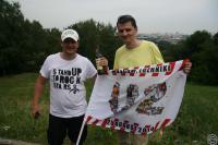 С флагом и с Jameson